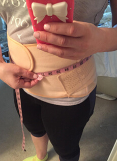 postpartum belt share
