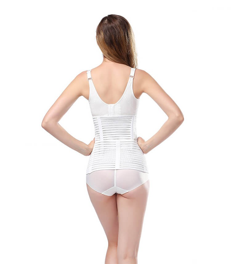best waist cincher shapewear postpartum c section belly band slimming waist trainer reduce belly after delivery belt
