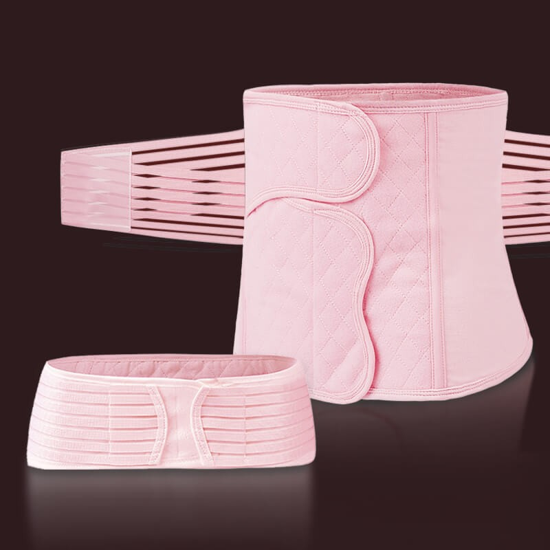 postpartum belly band compression belt extra firm waist cincher stomach wrap after c section