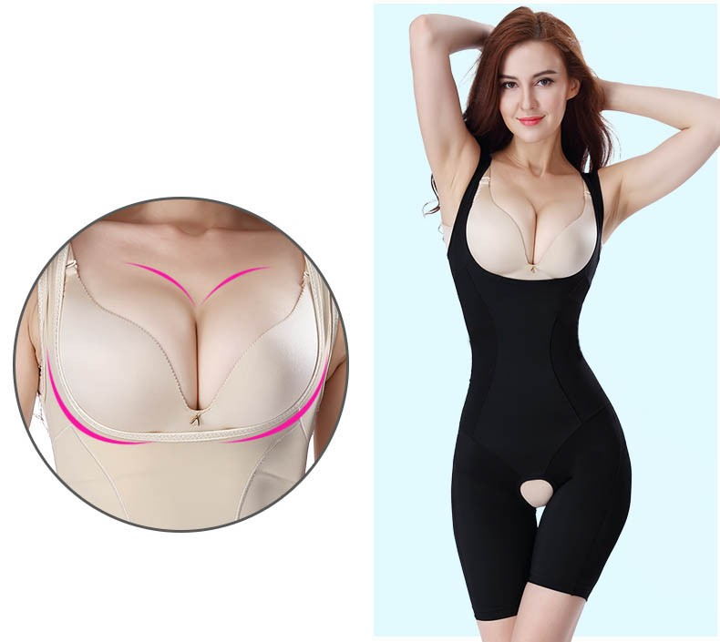 Special Postpartum Full body Shapewear Open Crotch Slim Tights Bodysuit