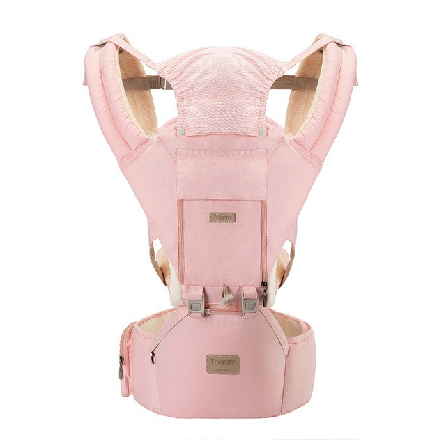 12 in 1 Baby Carrier - Ergonomic 360° Baby Soft Carrier, Comfortable Adjustable Positions