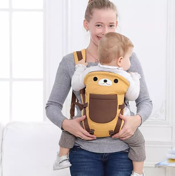 Cotton Baby Carrier Infant Comfort Backpack Buckle Sling Wrap Fashion