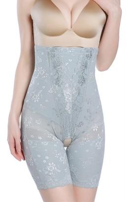 Postpartum Corset Belt - High Waist Tummy Control Trainer Underwear Belt - Compression Shorts for Stomach After Pregnancy