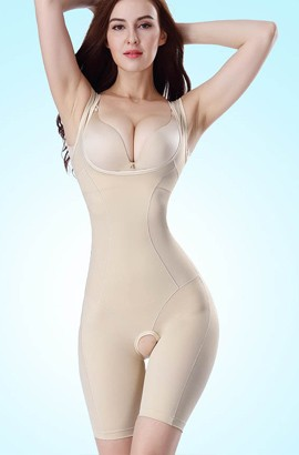 Postpartum Shapewear - Women Full Body Girdle Postpartum Slimming Tight Waist Body Shaper Corset