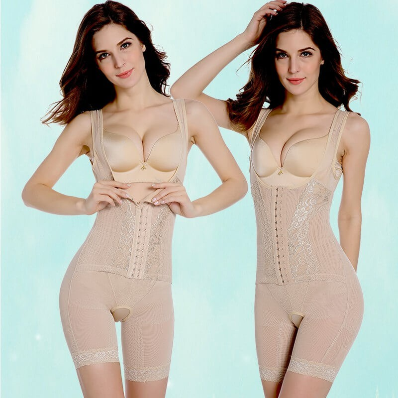Women postpartum corset belt - postpartum abdomen seamless drawing slim waist butt-lifting one piece shapewear