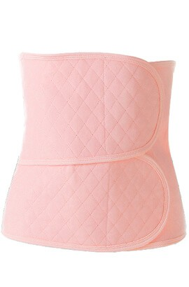 women postpartum belt - compression waist training workout belt - postpartum recovery cincher belly band girdle