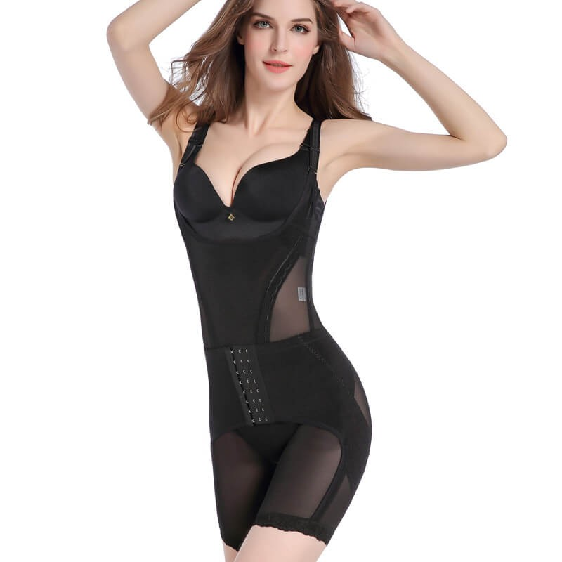 postpartum corset - waist cincher thigh reducer bodysuit shapewear - postpartum body shaper tummy slimmer for women