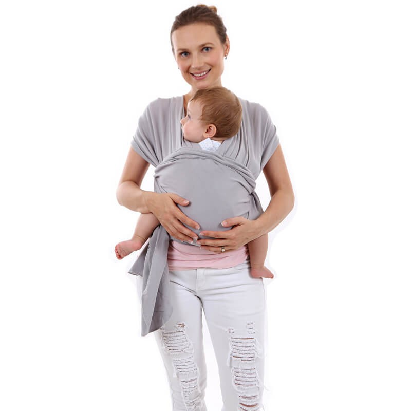 Wrap Baby Carrier - Stretchy Baby Wrap Sling Perfect for Newborn Babies and Children