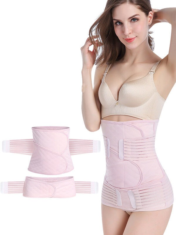 Postpartum girdle - postpartum c section belly band - slimming waist trainer reduce belly after delivery belt