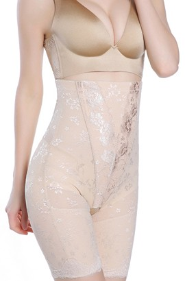 Postpartum Corset - Strapless Open Bottom Shaper High-Waist Tummy Control Postpartum Panties  After Pregnancy
