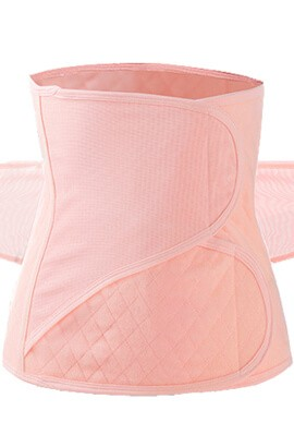 postpartum girdle - waist cincher trimmer-slimming tummy tuck body shaper - recovery postpartum belly hand belts
