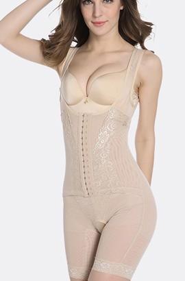 postpartum korset riem - postpartum buik naadloze tekening slanke taille butt-lifting shapewear uit één stuk
