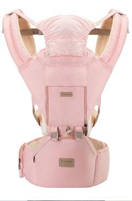 12-in-1 draagzak - Ergonomische 360 ° zachte draagzak voor baby's, comfortabele verstelbare posities