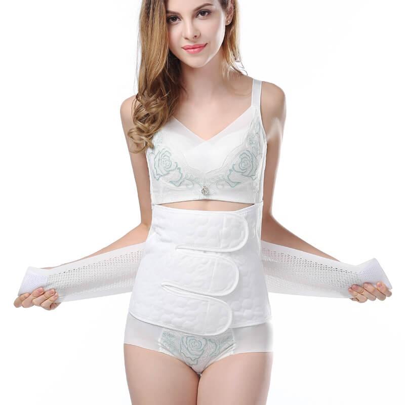 Gaine Post Accouchement - ceinture abdominale après grossesse femmes bandes d'estomac pour après la grossesse