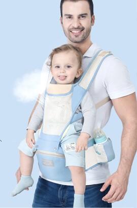 12 En 1 confort porte bébé dorsal - ergonomique echarpe de portage - sac à dos porte bébé nouveau né