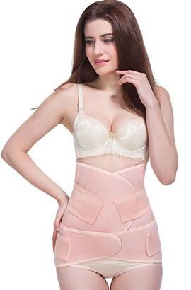 3 en 1 gaine post partum majuline soutien respirant bande de ventre après la livraison ventre ceinture post-partum wrap pour l'estomac et les hanches