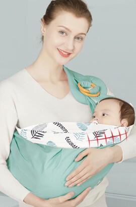 echarpe de portage - echarpe de portage sans noeud - Porte bébé ergonomique avec siège de hanche souple