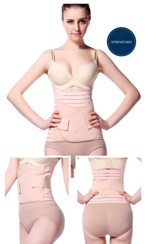 post-partum compressione cintura postnatale cintura di sostegno addominale avvolgere il supporto di pancia post-natale