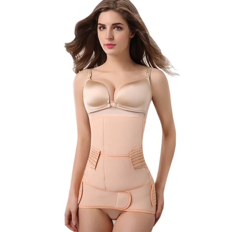 postare shaper del corpo di gravidanza di nuovo il supporto post-partum sezione c cintura