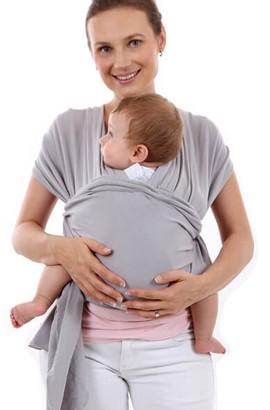 Marsupio avvolgente - Fascia elastica per avvolgere il bambino perfetta per neonati e bambini