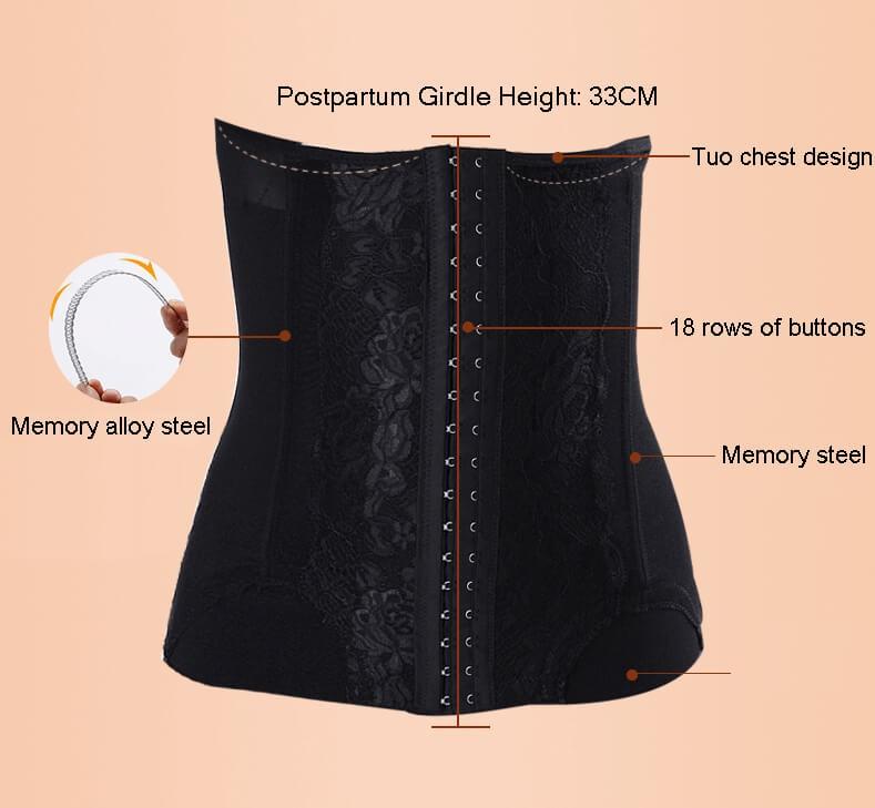 Bauchbänder für nach der Geburt Schwangerschaft postpartale Bauchband Wraps für Magen