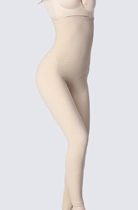 Sexy Nahtloser Postpartum-Bauch-dünne Form-Schlüpfer-Körper-Form-Taillen-Brust, die hohe Taille fettes Brenner-Korsett abnimmt