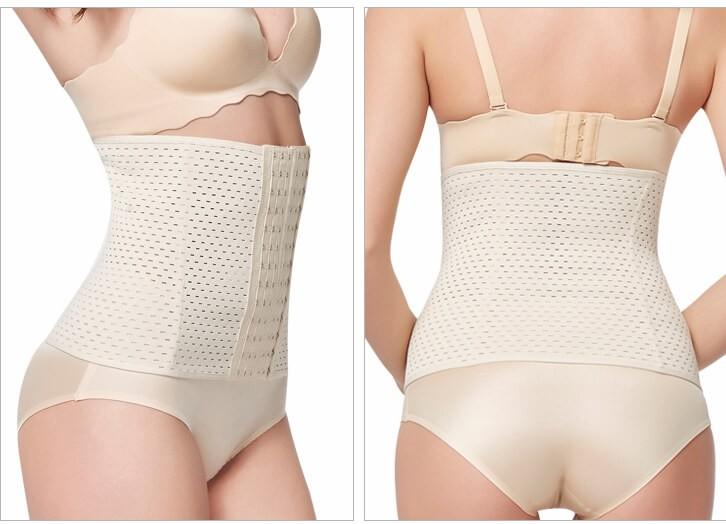 Moderskap postpartum stödband mage bindande efter födseln shapewear mage bälte