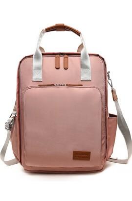 Blöjväska Ryggsäck - Multifunktionell ryggsäck förpackning barndomsväskor, stor kapacitet, vattentät och snygg