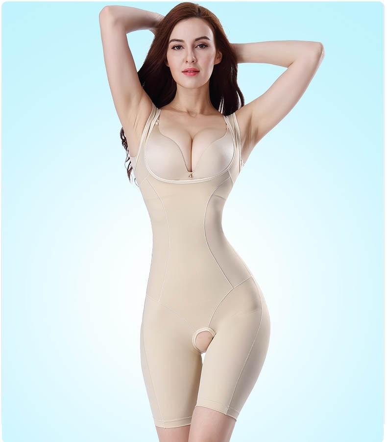 Žhavá sleva Ženy s celoplošným pletením Postpartum Chudnutie se silným pasem Body Shaper Korzet