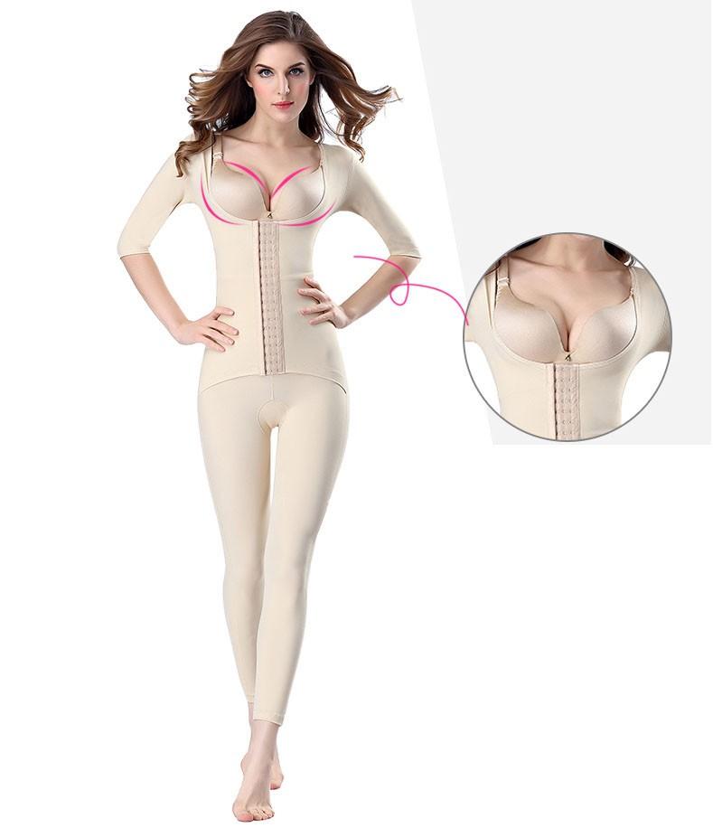 Postpartum Butt Lifter páska bezproblémové celého těla kompresní kosmetika s dlouhým Shaper