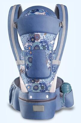 Ergonomický nosítko 15 v 1 - prodyšný batoh pro nositele pro muže, ženy, turistiku, nakupování, cestování