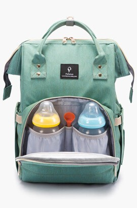 Multi-Function baby diaper bag backpack - Waterproof / Large Capacity / USB charging port
