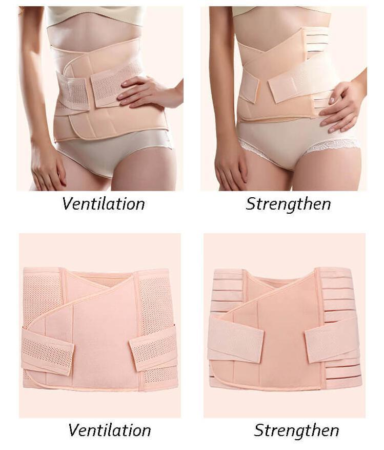 Postpartum girdle for c section