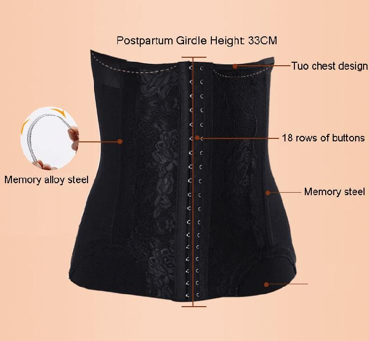 Traditional postpartum belly binding