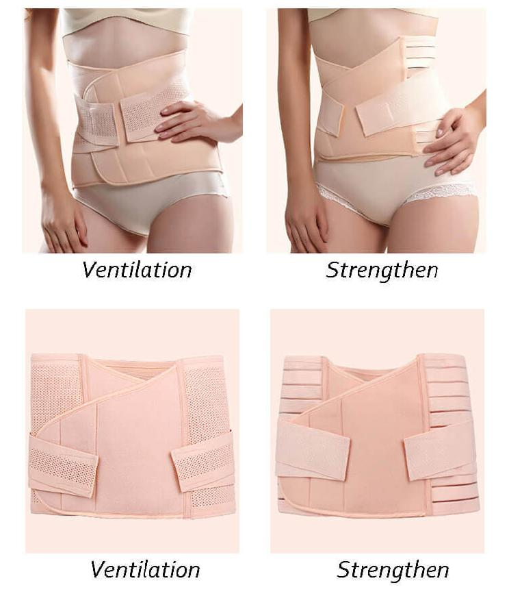 Plus size postpartum belly belt
