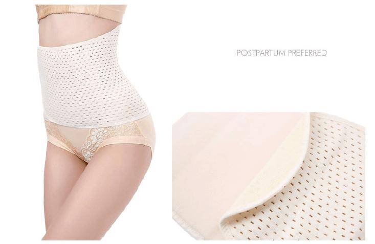 After pregnancy belt reduce tummy boots