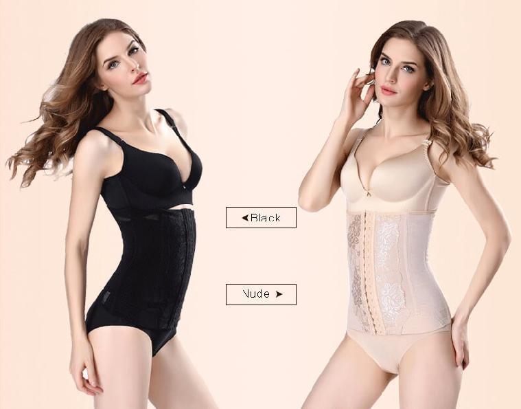 Postpartum body corset