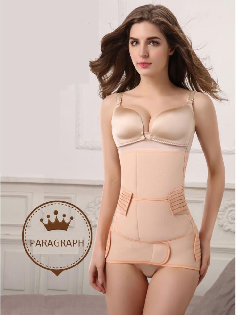Postpartum hip corset